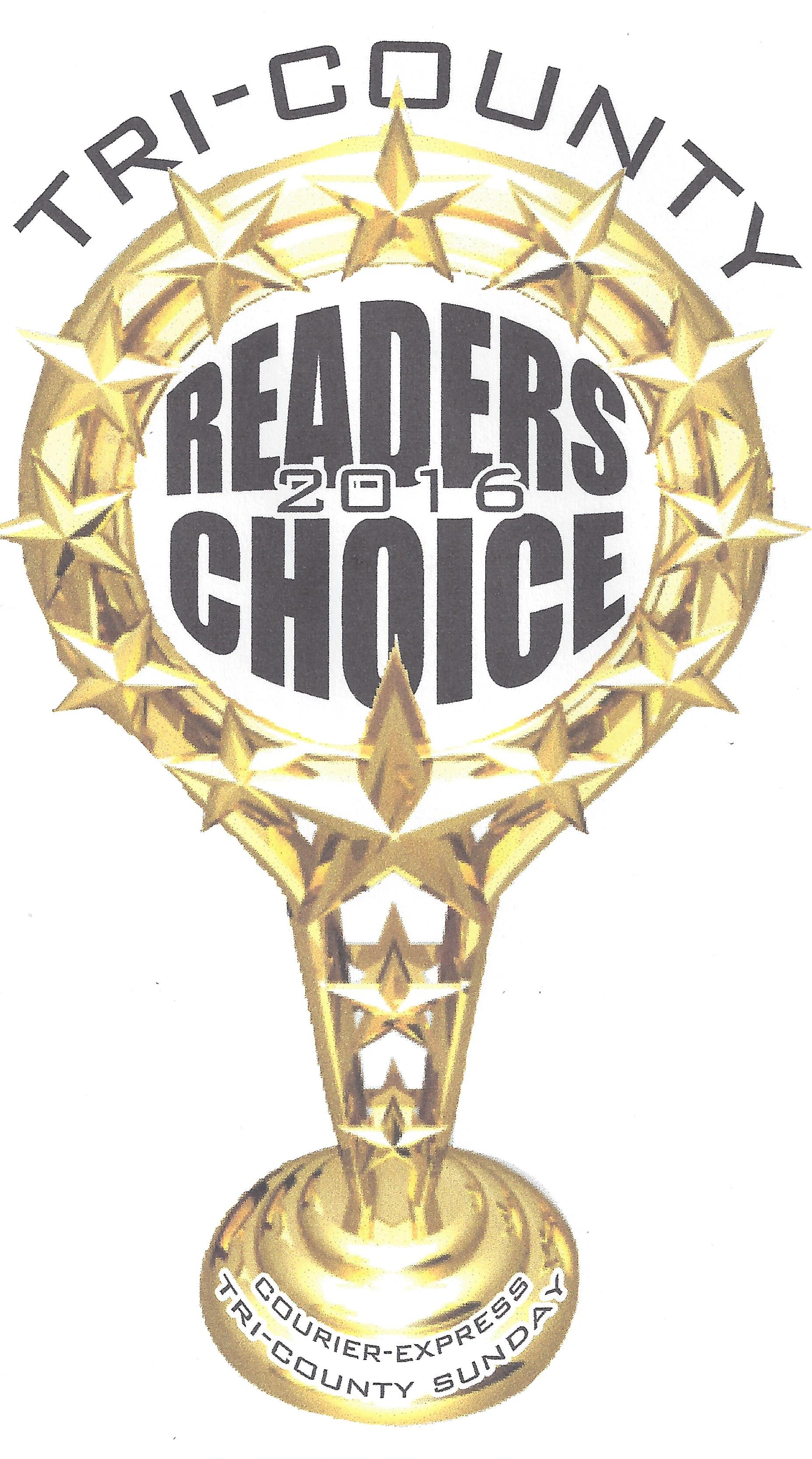2016 Readers' Choice Trophy